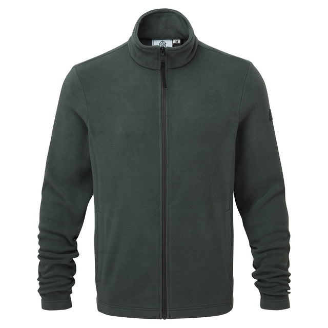 Shire Mens Fleece Jacket - Pine Green image 3