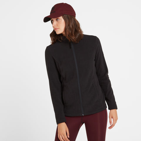 Shire Womens Fleece Jacket - Black