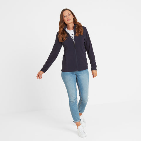 Shire Womens Fleece Jacket - Navy