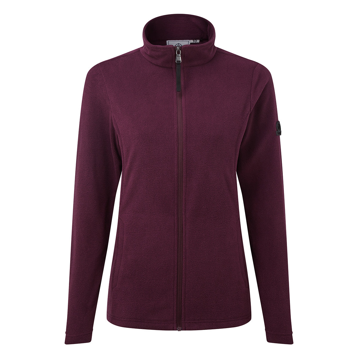 Shire Womens Fleece Jacket - Aubergine