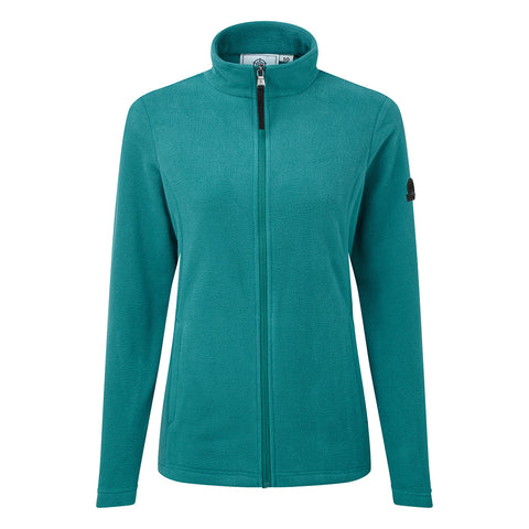 Shire Womens Fleece Jacket - Topaz