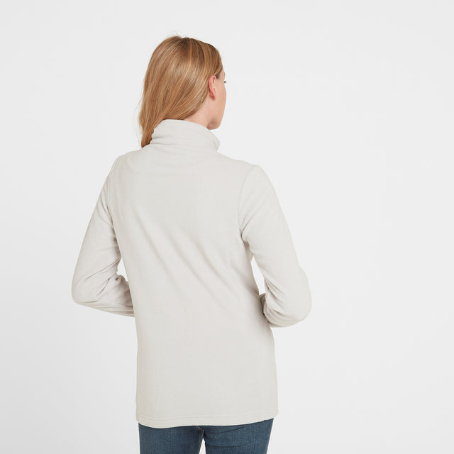 Shire Womens Fleece Jacket - Ice Grey image 2