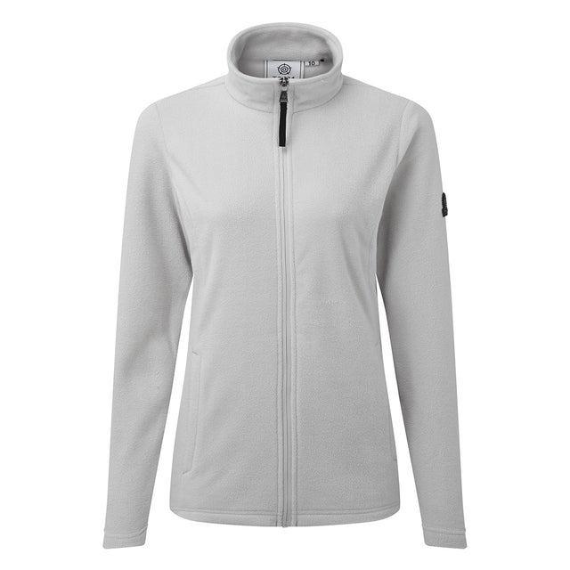 Shire Womens Fleece Jacket - Ice Grey image 3