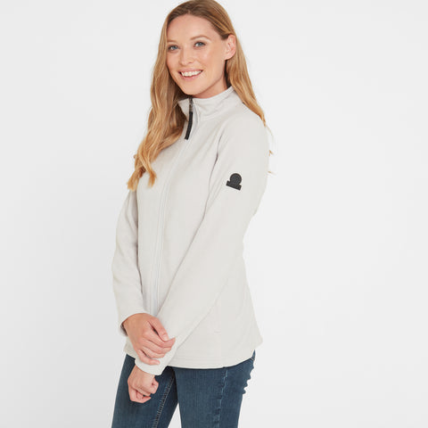 Shire Womens Fleece Jacket - Ice Grey