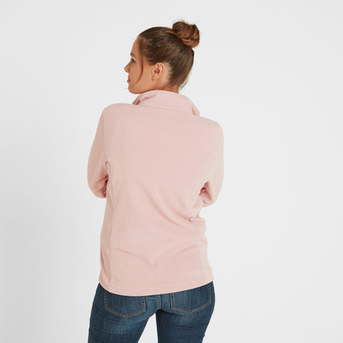 Shire Womens Fleece Jacket - Rose Pink