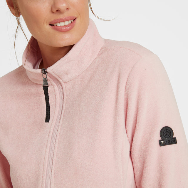 Shire Womens Fleece Jacket - Rose Pink image 3