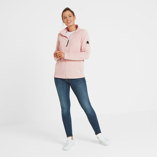 Shire Womens Fleece Jacket - Rose Pink image 1