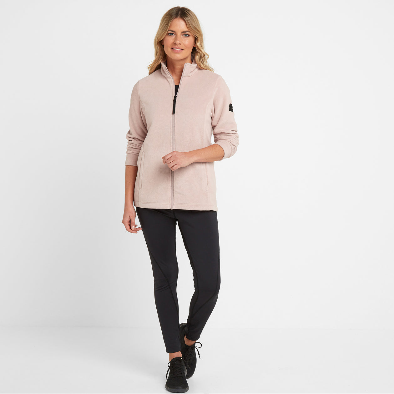 Shire Womens Fleece Jacket - Dusky Pink image 4