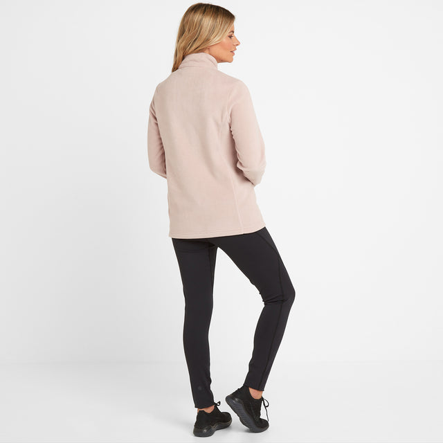 Shire Womens Fleece Jacket - Dusky Pink image 2