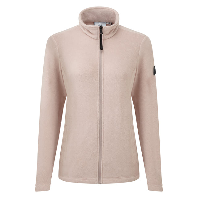 Shire Womens Fleece Jacket - Dusky Pink image 3