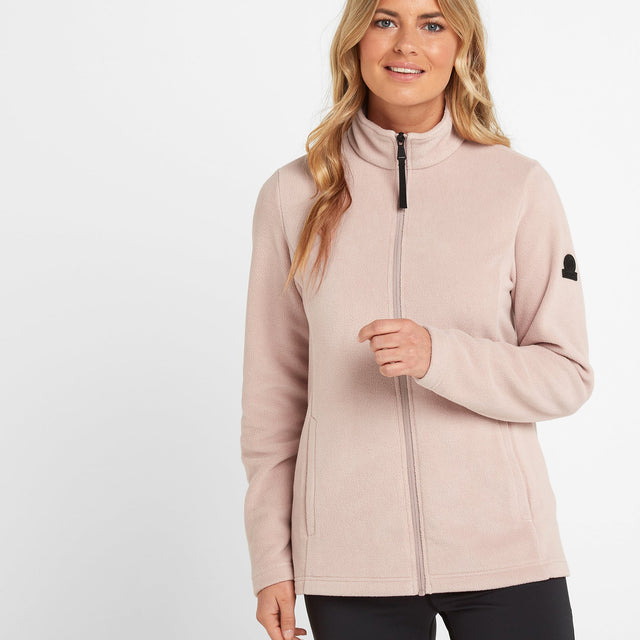 Shire Womens Fleece Jacket - Dusky Pink image 1
