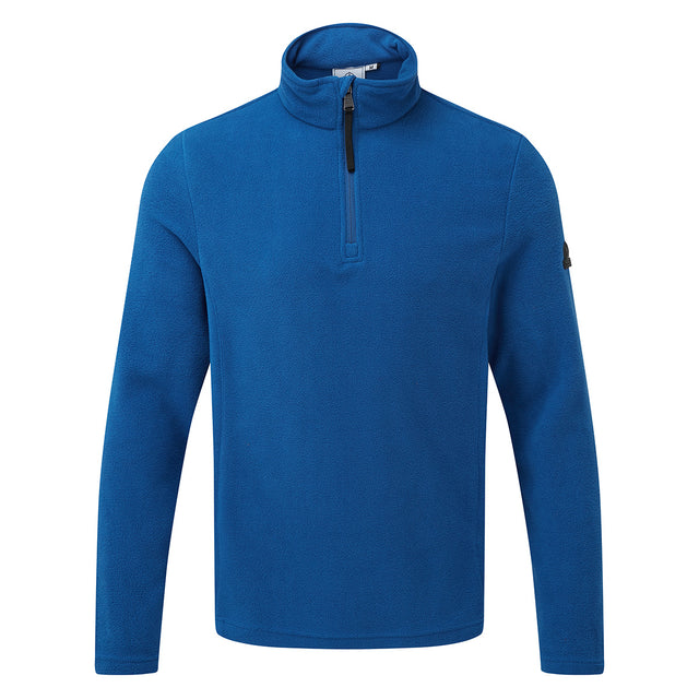 Shire Mens Fleece Zipneck - Royal Blue
