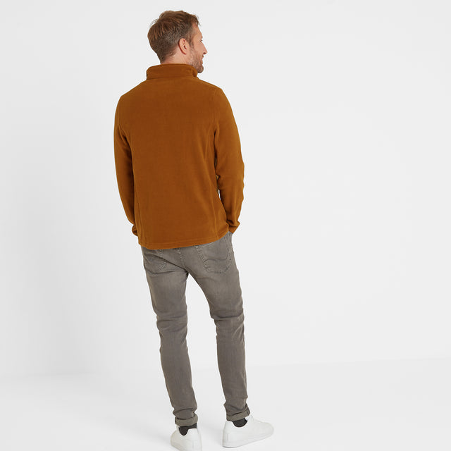 Shire Mens Fleece Zipneck - Amber image 2