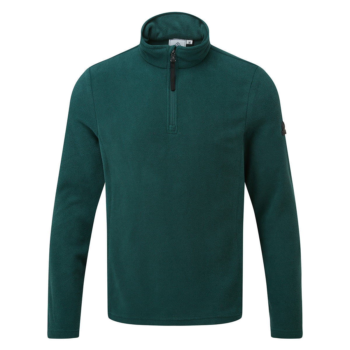 Shire Mens Fleece Zipneck - Forest image 4