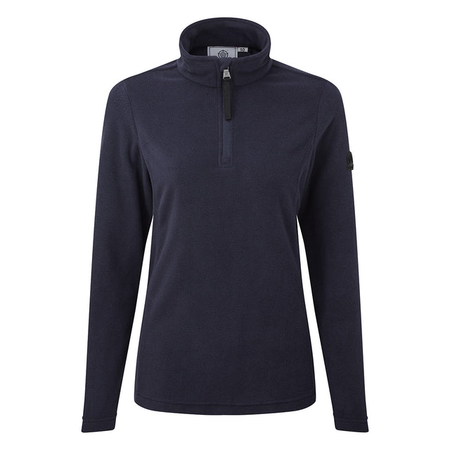 Shire Womens Fleece Zipneck - Navy image 3