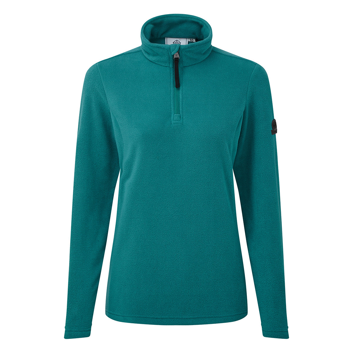 Shire Womens Fleece Zipneck - Topaz image 4