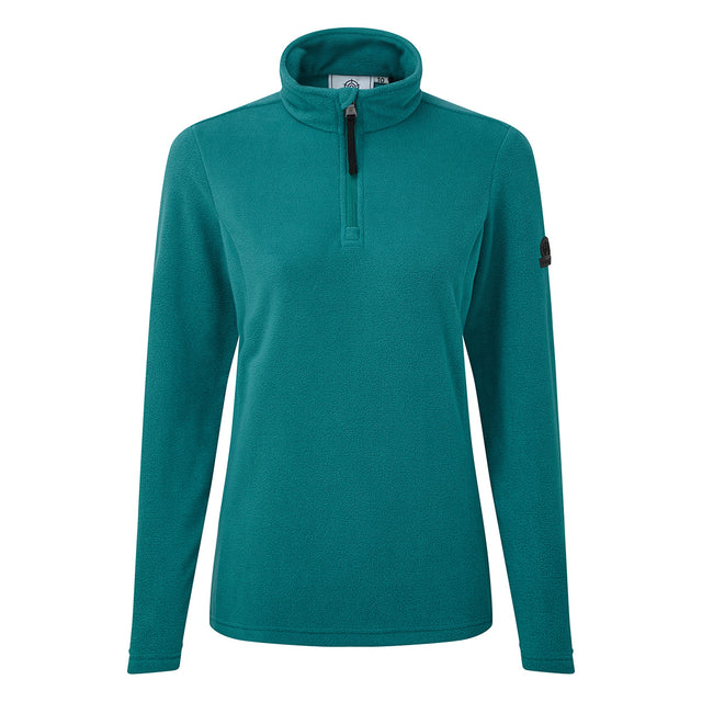 Shire Womens Fleece Zipneck - Topaz image 3