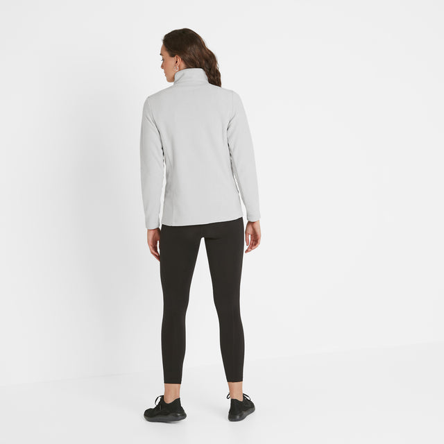 Shire Womens Fleece Zipneck - Ice Grey image 3