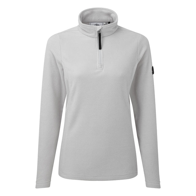 Shire Womens Fleece Zipneck - Ice Grey image 5