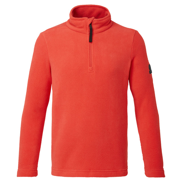 Shire Kids Fleece Zipneck - Pink Coral