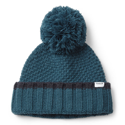 Silsoe Knit Hat - Lagoon Blue