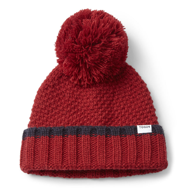 Silsoe Knit Hat - Chilli Red image 2