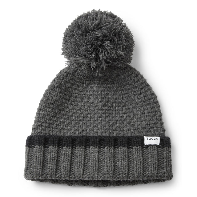 Silsoe Knit Hat - Dark Grey Marl image 3
