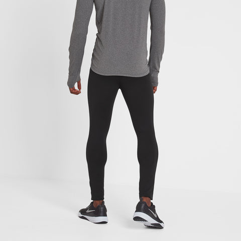 Snowdon Mens Thermal Leggings - Black