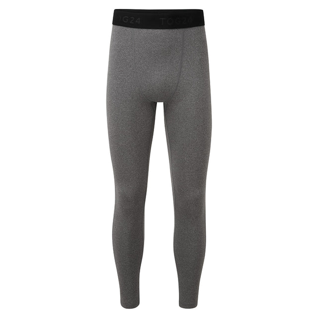 Snowdon Mens Thermal Leggings - Grey Marl image 3