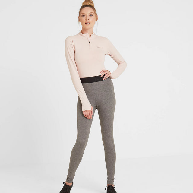 Snowdon Womens Thermal Legging - Grey Marl image 1