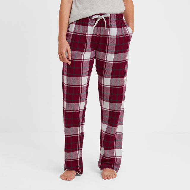 Snuggle Womens Pant Set - Raspberry image 3