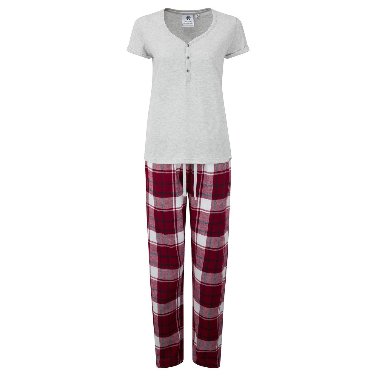 Snuggle Womens Pant Set - Raspberry image 4
