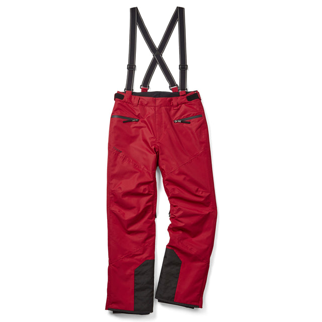Spike Mens Waterproof Insulated Ski Pants - Chilli image 3