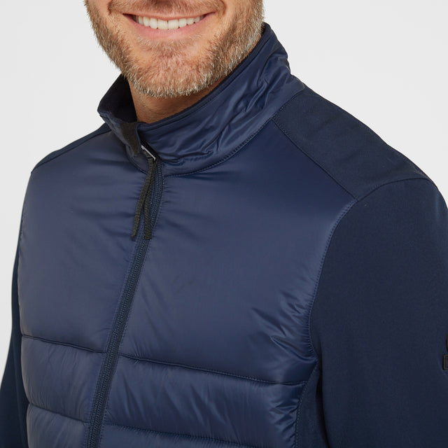 Stamford Mens Insulated Jacket - Navy image 5