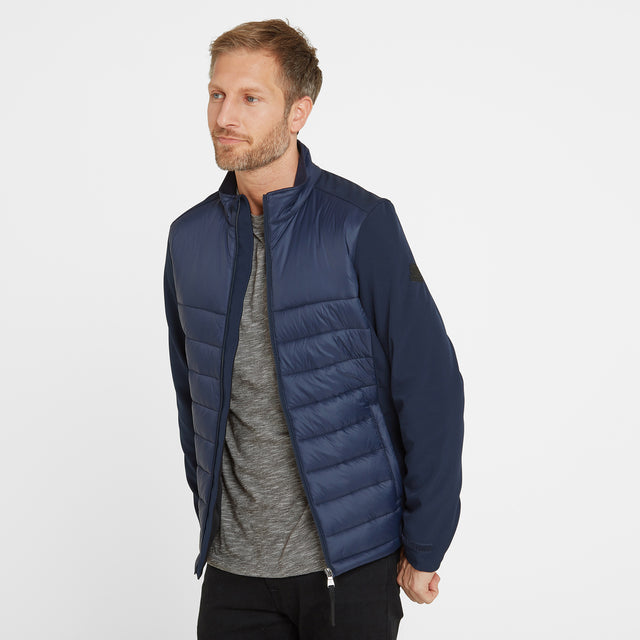 Stamford Mens Insulated Jacket - Navy image 1