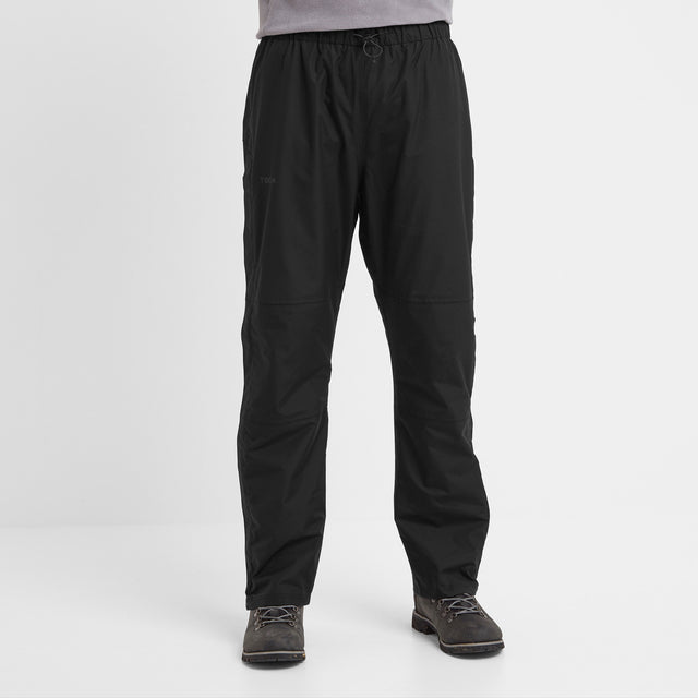 Steward Mens Waterproof Trousers Short - Black image 3