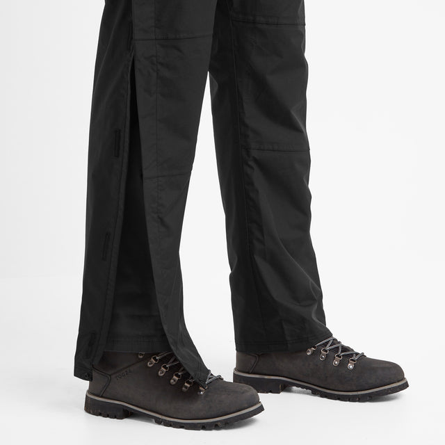 Steward Mens Waterproof Trousers Short - Black image 5