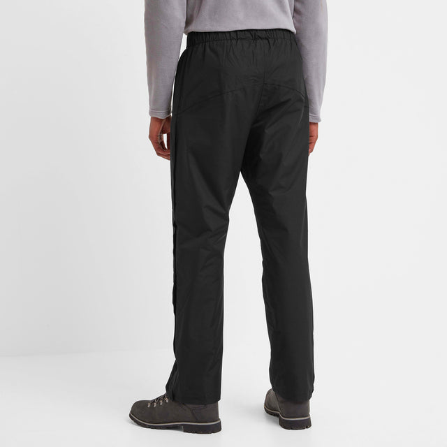 Steward Mens Waterproof Trousers Short - Black image 2