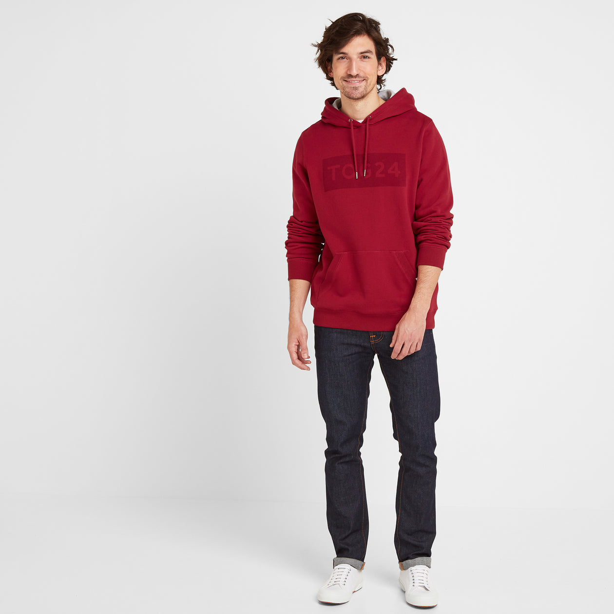 Stowgate Mens Hoody - Rio Red image 4