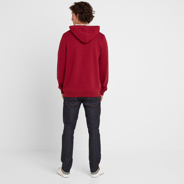 Stowgate Mens Hoody - Rio Red image 2
