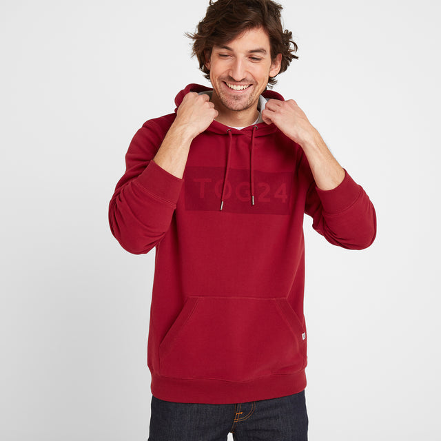 Stowgate Mens Hoody - Rio Red image 1