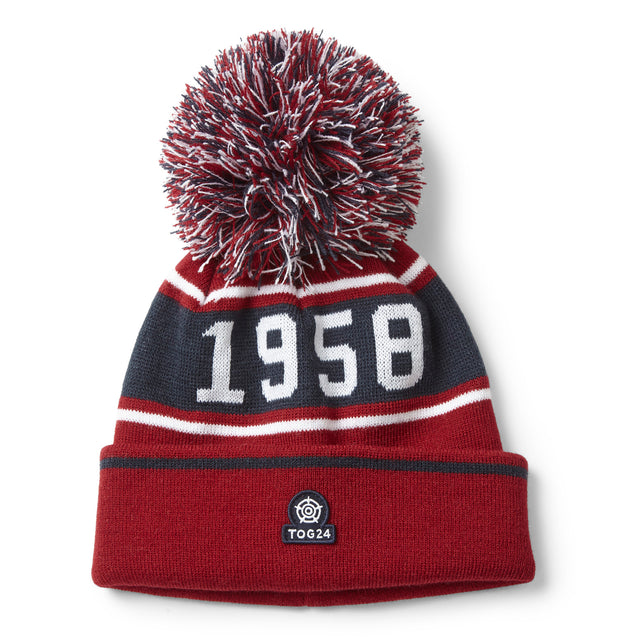 Tebworth Knit Hat - Chilli Red image 2