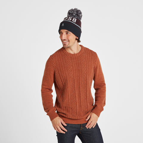 Tebworth Knit Hat - Navy