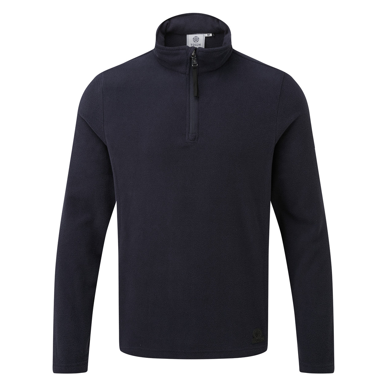 Treeton Mens Fleece Zipneck - Navy image 4