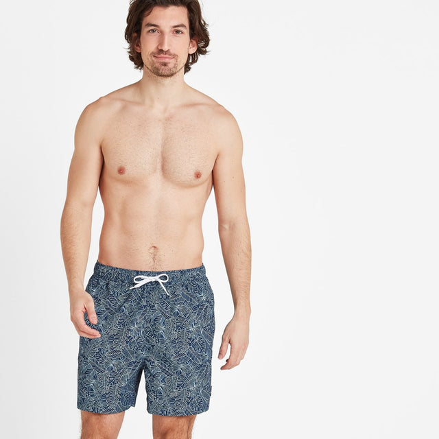 Tyler Mens Swim Shorts - Denim image 1