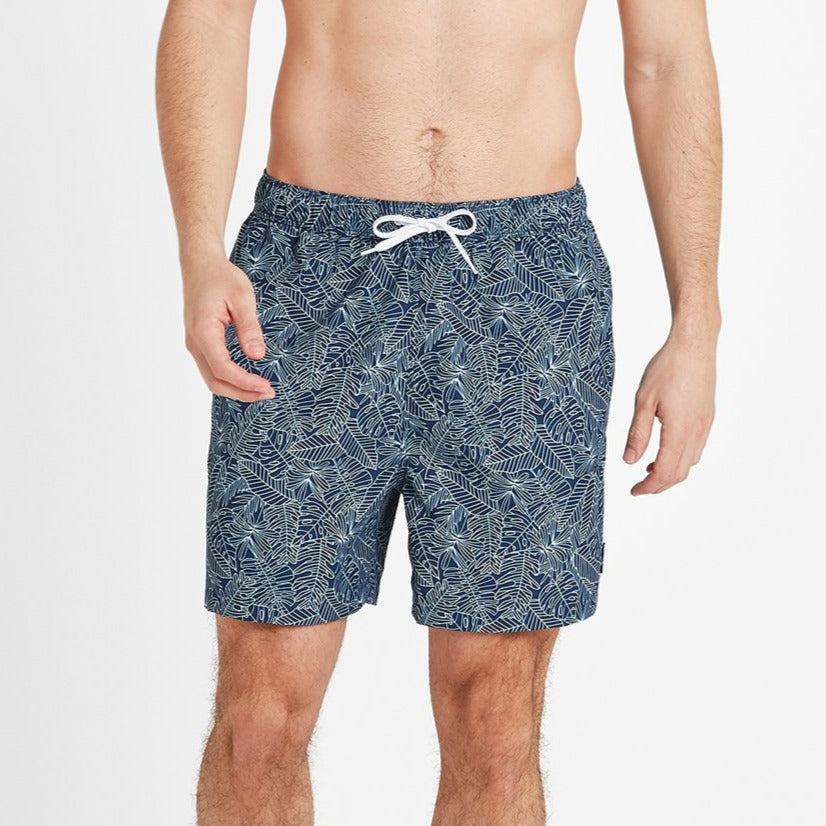 Tyler Mens Swim Shorts - Denim image 4