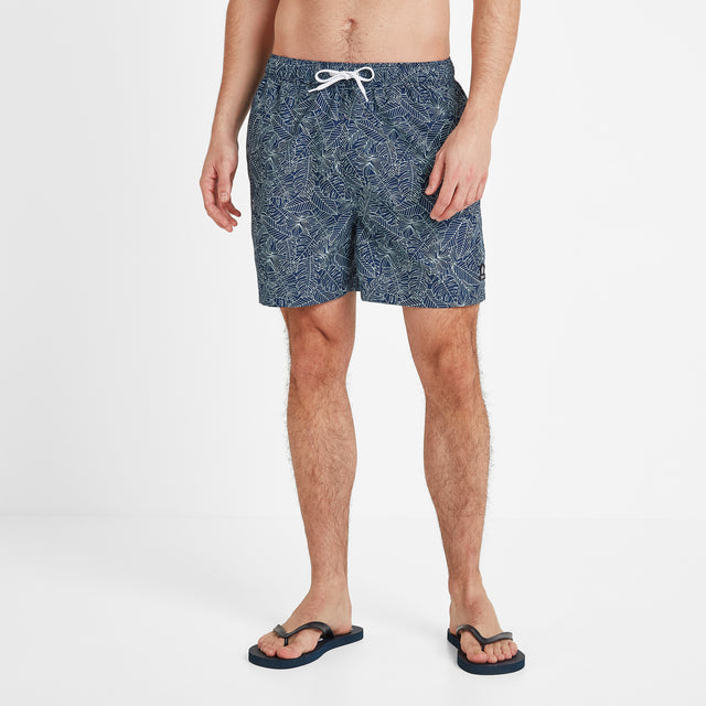 Tyler Mens Swim Shorts - Denim image 2