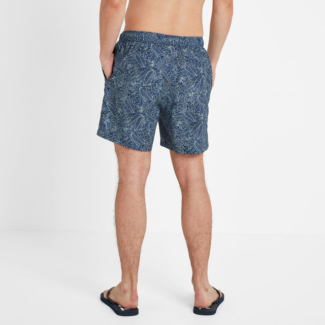 Tyler Mens Swim Shorts - Denim image 3