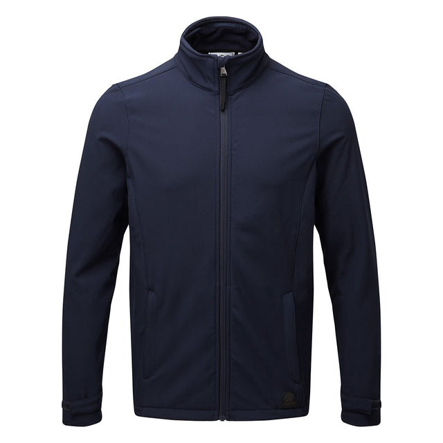 Valley Mens Softshell Jacket - Navy image 2