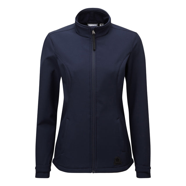 Valley Womens Softshell Jacket - Navy image 2